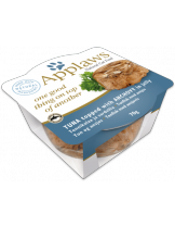 Applaws Cat Layers in Jelly Tuna with Anchovy - високо качествена консерва с риба тон и аншоа в желе - 70 гр.