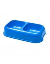 Ferplast PARTY 18  - двойна купа за храна и вода 0,60 + 0,60 л