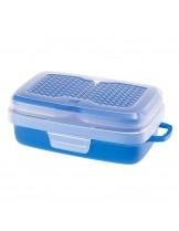 Ferplast - Pet Risto - кутия за храна и вода на домашни любимци при пътуване - 20х12х7 см.
