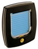 Ferplast - SWING 3 - малка кафява вратичка за котки и кучета - 22,5х25,2 см.
