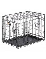 Ferplast - Dog-Inn 60 - сгъваема клетка за кучета 64.1х 44.7х 49.2 см.