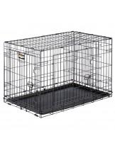 Ferplast - Dog-Inn 90 - сгъваема клетка за кучета 92.7х 58.1х 62.5 см.