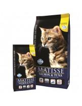 Matisse Salmon&Tuna  32/11 - балансирана гранулирана  и балансирана храна за котки над 1 година със сьомга и риба тон - 20 кг