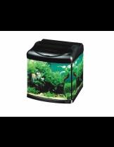 HAILEA оборудван аквариум Hailea B 30 с размери 31.0 х 30.5 х 37.0 см., 30 литра. - черно/сиво/графит
