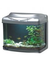 HAILEA оборудван аквариум FA300A с размери 38х25.4х33.5 см., 30 л. - сребърен