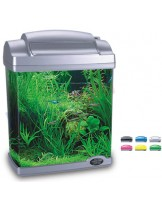 HAILEA оборудван аквариум FC200  с размери 22.5х15.5х29.7 см. - 6.6 л. - син