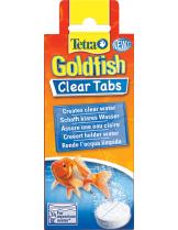 Tetra Goldfish Clear tabs - таблетки за избистряне на водата на аквариума със златни рибки - 6 бр. таблетки
