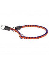 Ferplast - TWIST CS 12/50 - нашийник душач за куче - оранжево със синьо - Ø 12 мм.  x 50 см.