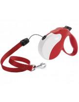 Ferplast - AMIGO LONG CORD RED - автоматичен повод за кучета въже - 7 м./ до 20 кг.