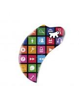 Ferplast - COVER AMIGO MINI ICON - панел за размер mini - с различни икони