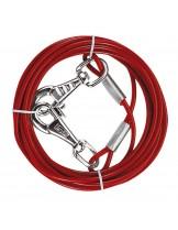 Ferplast PA 5987 - стоманено въже с пластмасово покритие - 450 см.