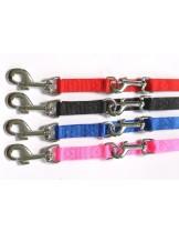 Миазоо  - повод за куче от изкуствена лента  - розов - 1.0 / 120 см.