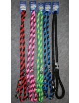 Миазоо - Повод за куче от въже синьо-черно - 12/120 см.