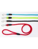 Миазоо Ексклузив - повод въже /светлоотразителни нишки/ - 1.2  X 60 см. - червено, синьо, черно, зелено
