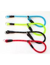 Миазоо - Ексклузив - нашийник въже със светлоотразителни нишки - 12 мм. - 60 см.  (червен, син, черен, зелен)