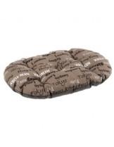 Ferplast Relax 78/8 - мек памучен дюшек за домашни любимци - десен с градове - 78х50 см.