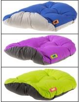 Ferplast Relax 78/8 - мек памучен дюшек с плюш за домашни любимци -  -  зелен, тъмно син, тъмно лилав - 78х50 см.