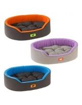 Ferplast -DANDY 95 -памучно легло за куче без плюш  с размери - оранжев, син, лилав цвят - 95х60х23 см.