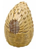 Ferplast PA 4452 - гнездо за финки, амадини и канарчета с размери -  8 x 11 x Ø10,6 см.