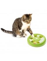 Ferplast Discover - забавна играчка за котки развиваща умения - Ø 23 / 4.2 см.