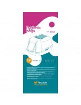 Ferplast FPI 5362 - торбички за котешка тоалетна BELLA, MODERNA и PRIMA - 50 x h 38,5 см. - 12 бр.