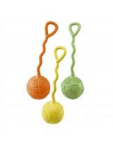 Ferplast -  PA 6090 - играчка топка с дръжка за куче - 22х6.5 см. - различни цветове