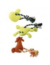 Ferplast - PA 6515  - играчка памучен шнур за кучета 1 възел с играчка 31.см