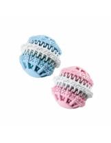 Ferplast -PA 6586 RUBBER BALL F/ TEETH M -играчка за куче - 8 см.