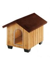 Ferplast Domus XLarge Wooden kennel - дървена къщичка с размери - 93,5 x 113,5 x h 90,5  см