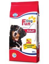 Fun Dog Adult 22/9 - гранулирана храна за кучета в зряла възраст с нормална физическа активност - 10 кг