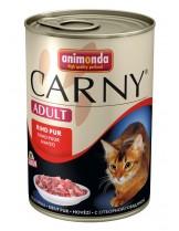 Animonda Carny Adult Chicken Turkey Duck - с пиле, пуйка и патешки сърца - 400 гр.