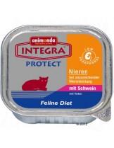 INTEGRA Protect Renal - профилактична храна за котки с ограничена функция на бъбреците със свинско - 100 гр.