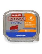 INTEGRA Protect Renal - профилактична храна за котки с ограничена функция на бъбреците с пуйка - 100 гр.