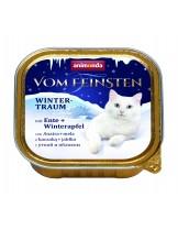 Animonda Vom Feinsten Winter - за котки от всяка възраст и порода с патица и ябълка - 100 гр.