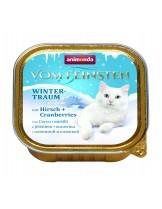 Animonda Vom Feinsten Winter - за котки от всяка възраст и порода с еленско и боровинки - 100 гр.