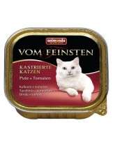 Von Feinsten Castrated - пастет за кастритрани котки над 12 месеца с - пуйка - 100 гр.