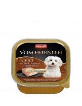 Vom Feinstein Forest 2in1  - Пастет за възрастни кучета с йогурд, овес и говеждо  - 150 гр.