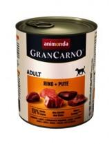 Gran Carno Adult - за кучета над 1 год с говеждо и пуйка - 0.400 кг.