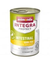 INTEGRA® PROTECT Intestinal - специална, без зърнена диетична терапия за кучета при разстройтво и повръщане - 0.400 кг.