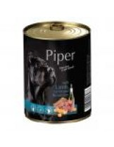 Piper - Премиум консервирана храна за кучета с агнешко, моркови и кафяв ориз - 400 гр.