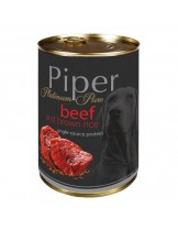 Piper - Премиум консервирана храна за кучета с телешко и кафяв ориз - 400 гр.