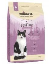 Chicopee Classic Nature Line Senior - за котки над 8 година или за котки с наднормено тегло - с пилешко и патешко месо - 1.5 кг.