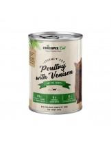Chicopee Poultry with Venison - високо качественак онсерва за котки с птиче и еленско месо - 400 гр.
