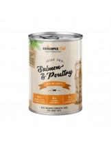 Chicopee Salmon&Poultry - високо качествена консерва за котки с птиче месо и сьомга - 400 гр.