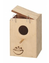 Ferplast Nido Nest small - къщичка гнездилка с размери -  13x12x17 см.