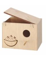 Ferplast Nido Nest large - къщичка гнездилка с размери - 25 x 17 x 17 см.