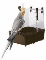 Ferplast L 101 - вана за средни папагали с размери - 23.5/15.5/24 см.