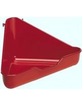 Ferplast L370 - универсална тоалетна за гризачи  с размери - 27/27/17 см.