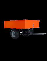 Husqvarna - Ремарке за градински трактор Profi - 123х90х30 см.