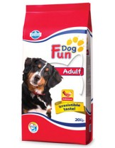 Fun Dog Adult 22/9 -  гранулирана храна за кучета в зряла възраст с нормална физическа активност - 20 кг